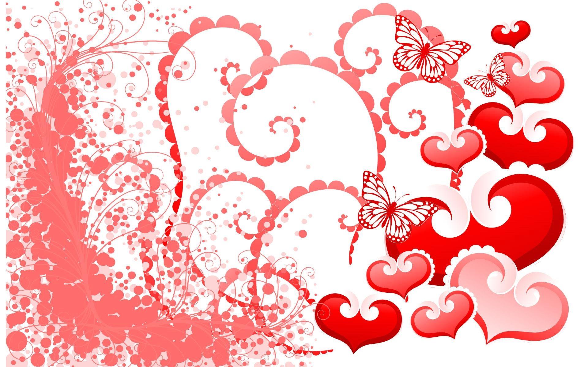 Открытки и сердцами
