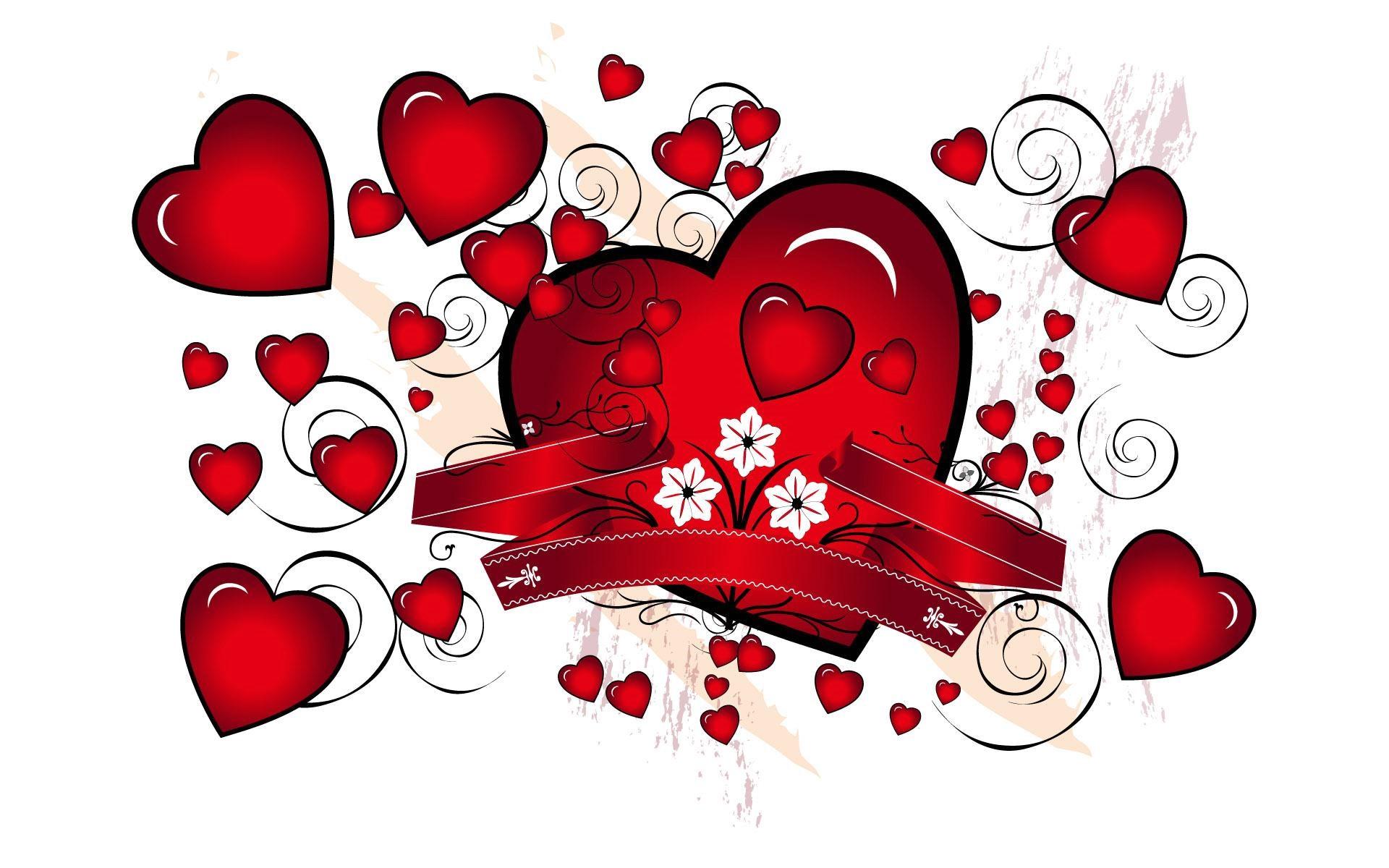рисунки любовь картинки сердечки