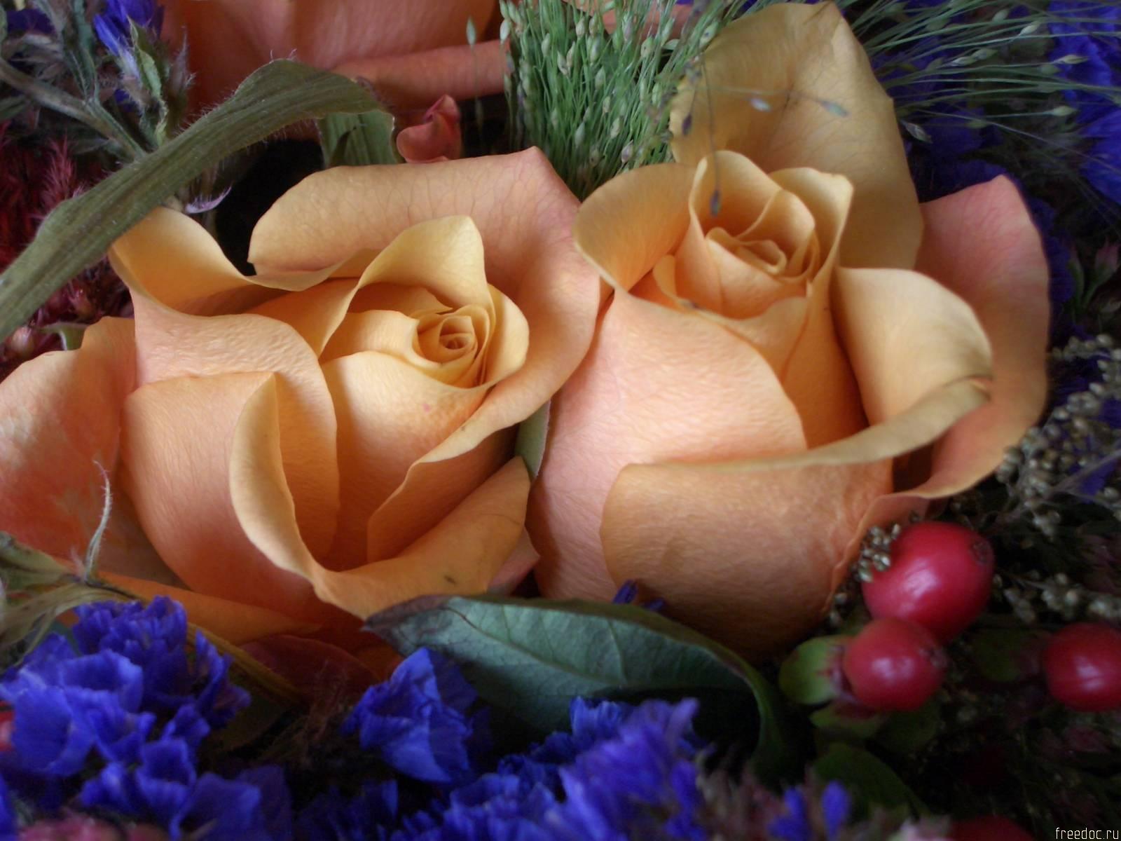 Для дамы цветы фото